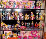 Sailor Moon Toy Figures Shelf