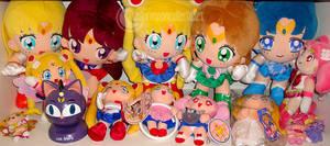 Sailor Moon Plush Collection