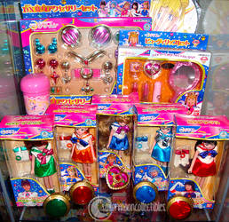 PGSM Sailor Moon Toy Shelf by onsenmochi