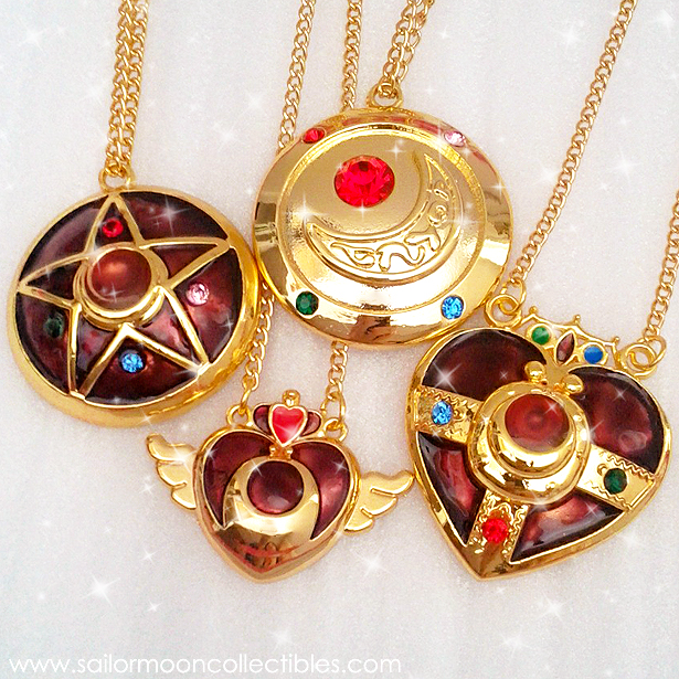 Sailor Moon Necklaces by onsenmochi