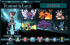 Ayesha Pokemon Card by Aldermar