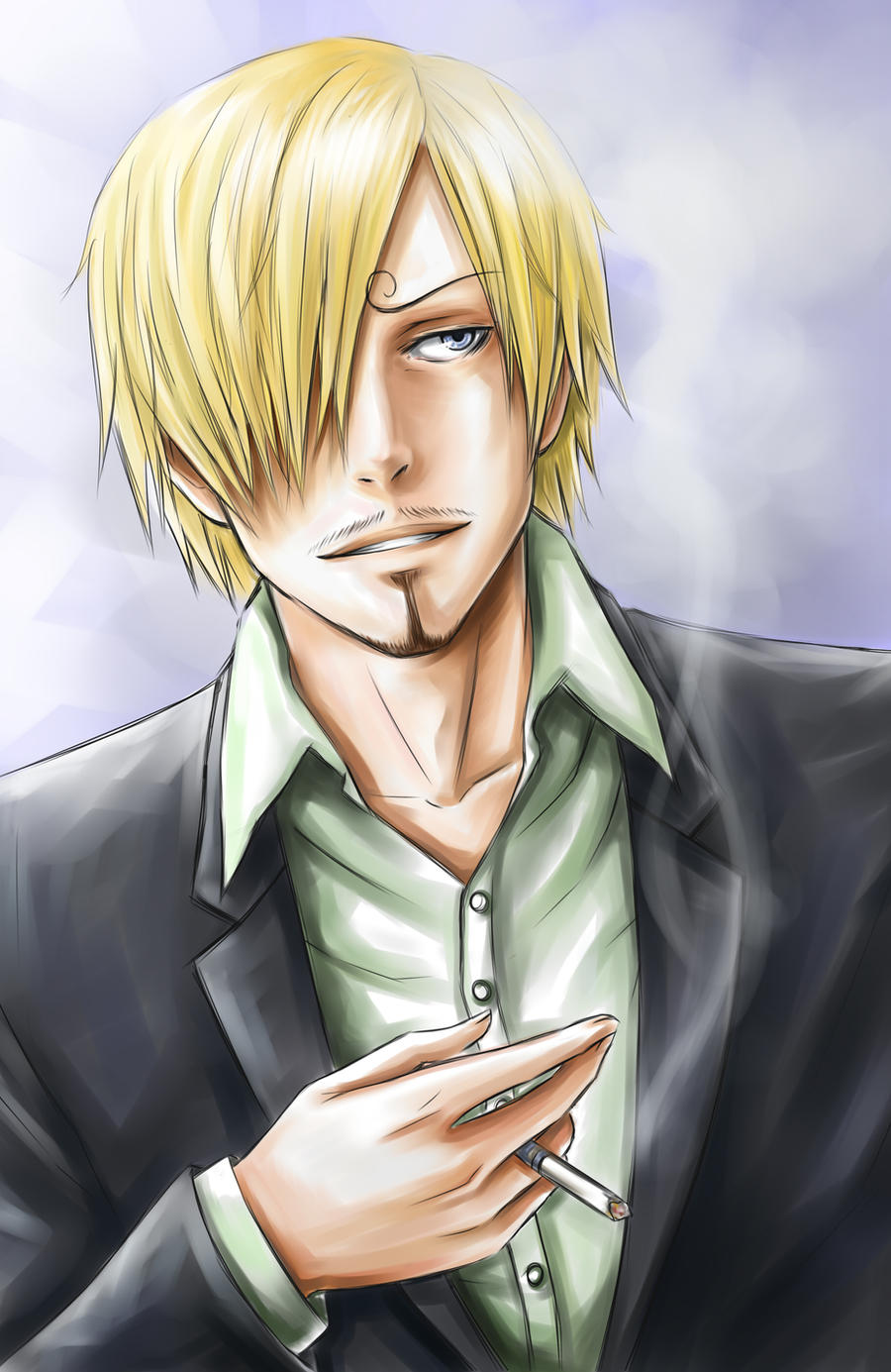 Sanji-san by LorenaMGrim