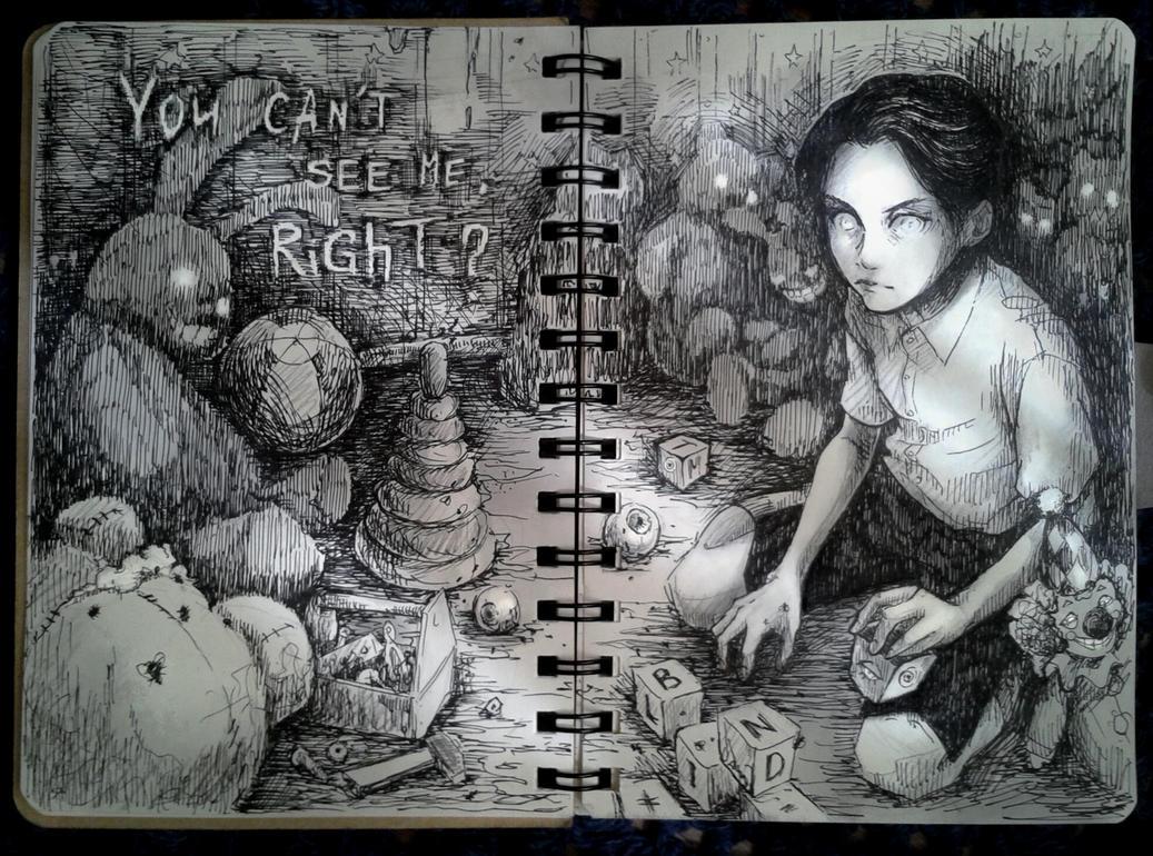 plush nightmare by LorenaMGrim