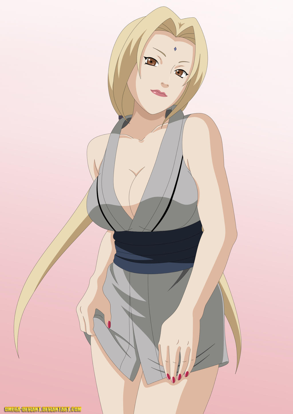 Sexy Tsunade by ~omega-deviant on deviantART