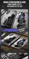 Indigo Studio Business Card by VadimSoloviev