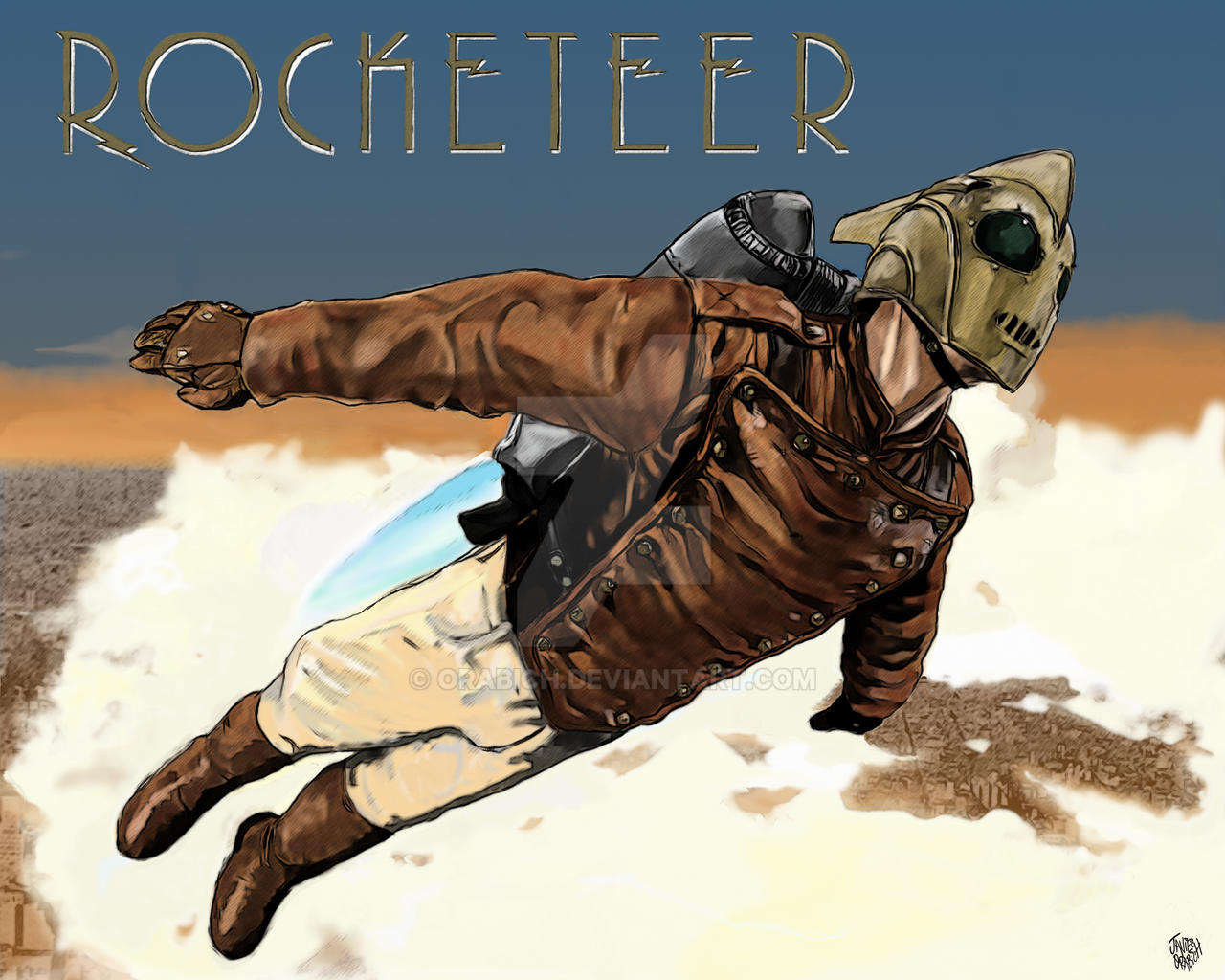 ROCKETEER by orabich