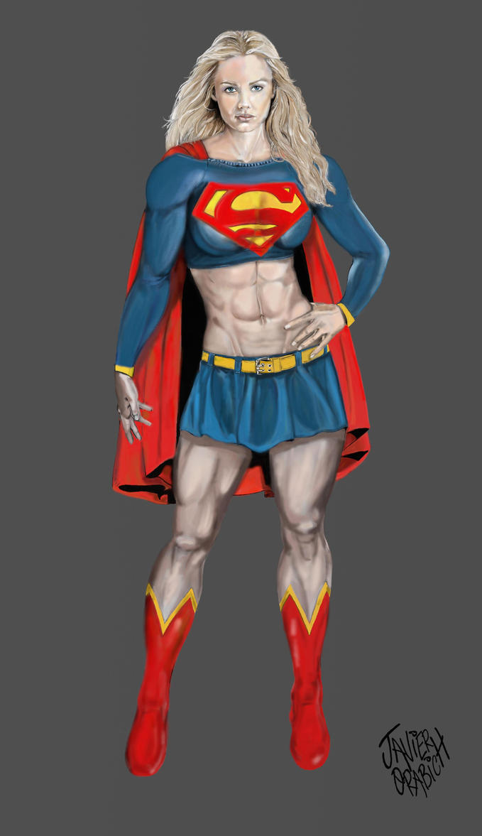 SUPERGIRL by orabich