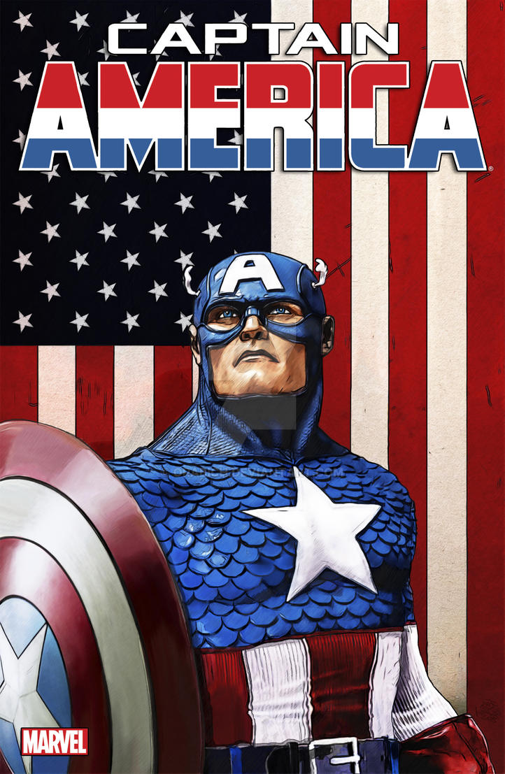 CAPTAIN AMERICA by orabich