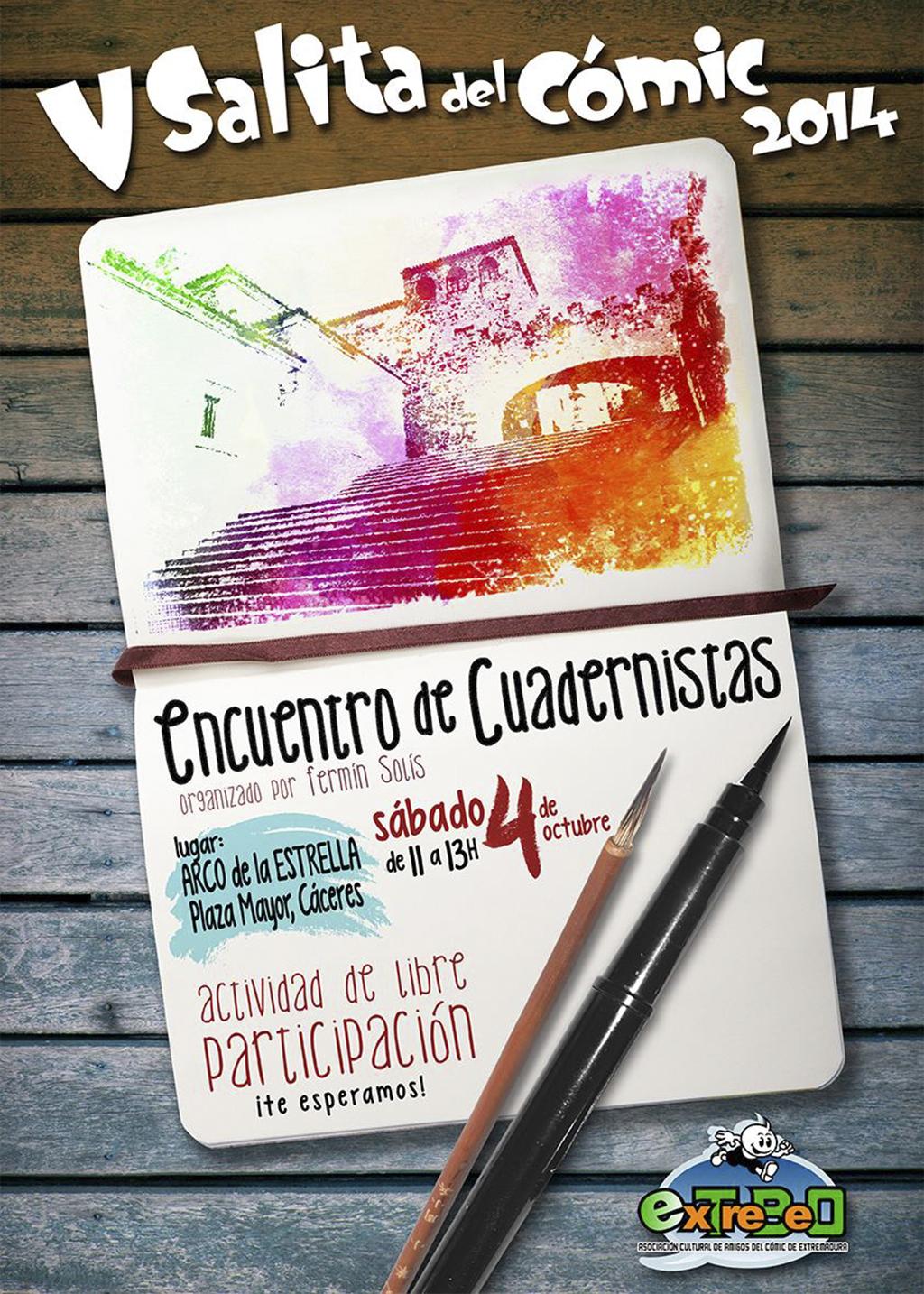 cartelCUADERNISTAS web by orabich