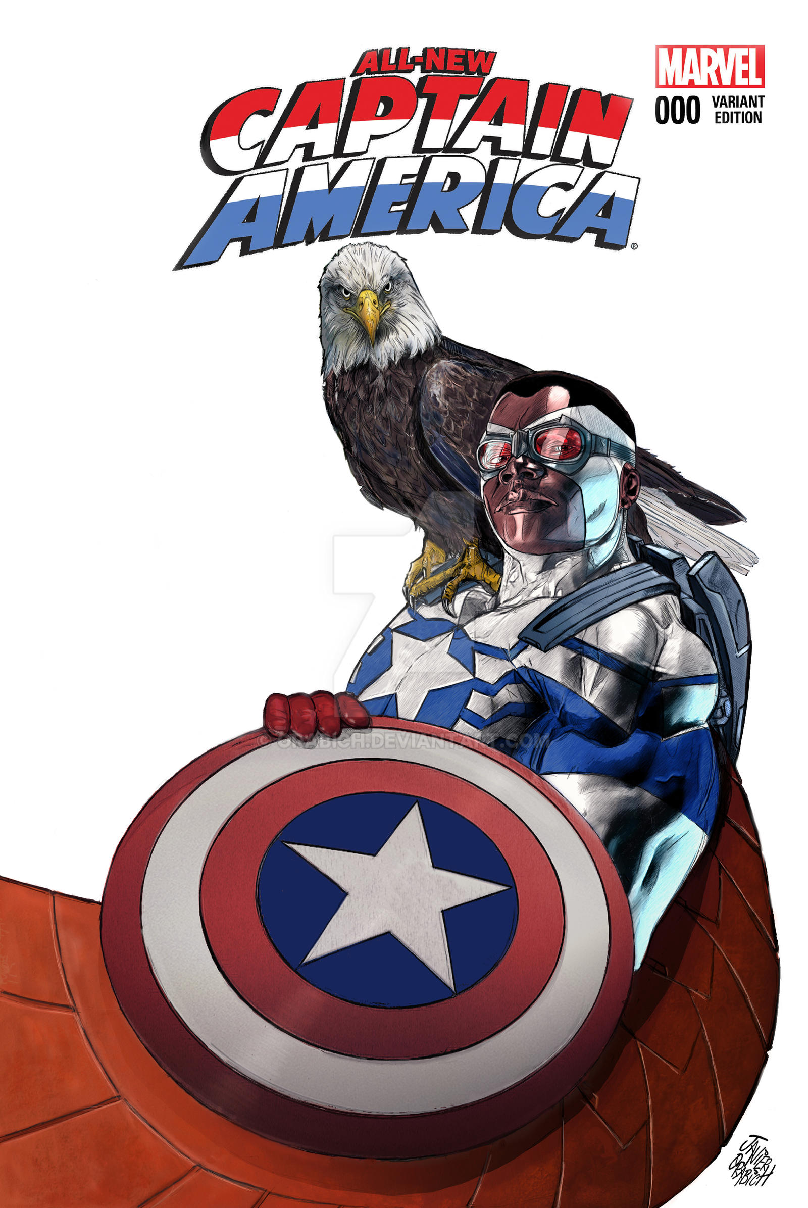 ALL-NEW CAPITAN AMERICA. by orabich