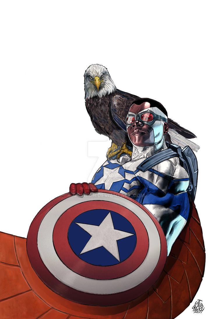 All- NEW CAPITAIN AMERICA PRINTS. by orabich