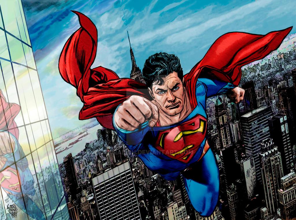 SUPERMAN COLOR. by orabich