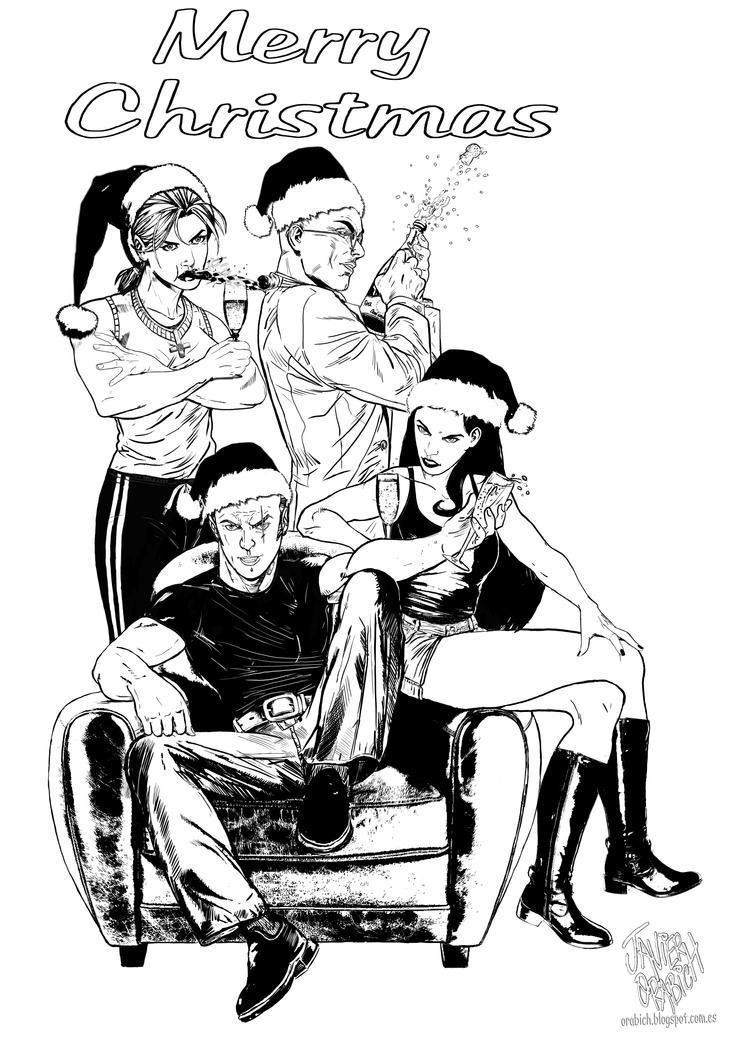 Cuarteto. V Navidad by orabich