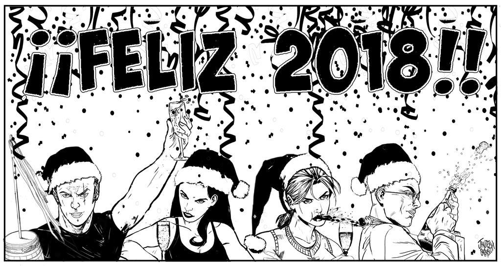 Feliz 2018 by orabich