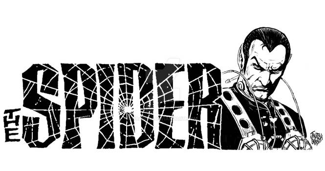 DRAW ATHE SPIDER.