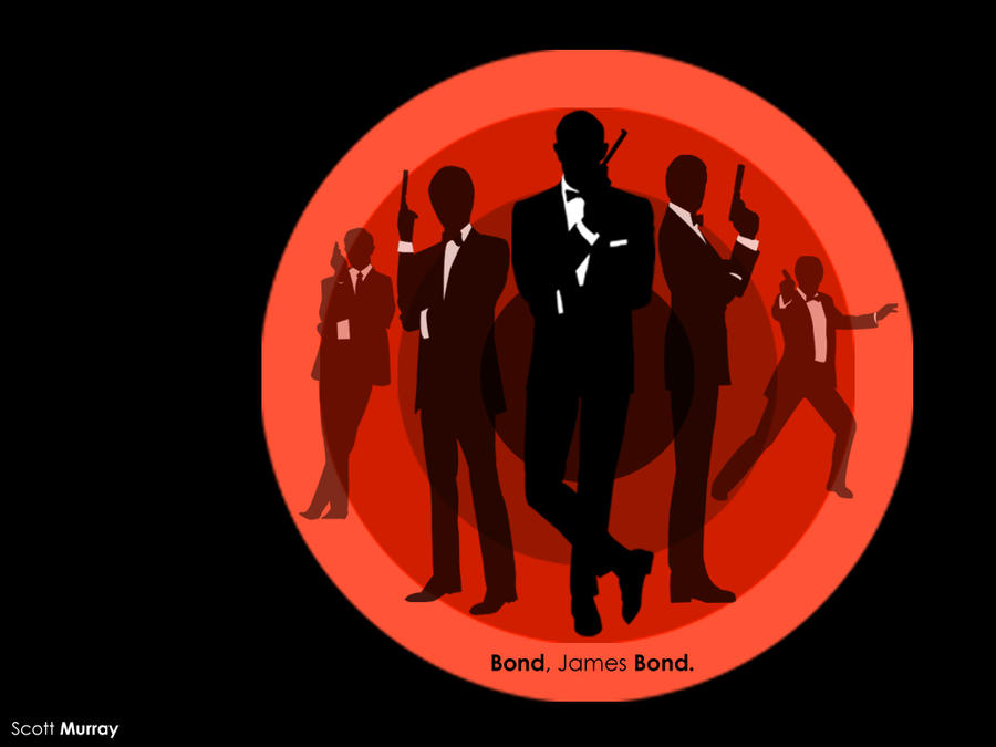 James Bond Montage Wallpaper by ScottMU on DeviantArt