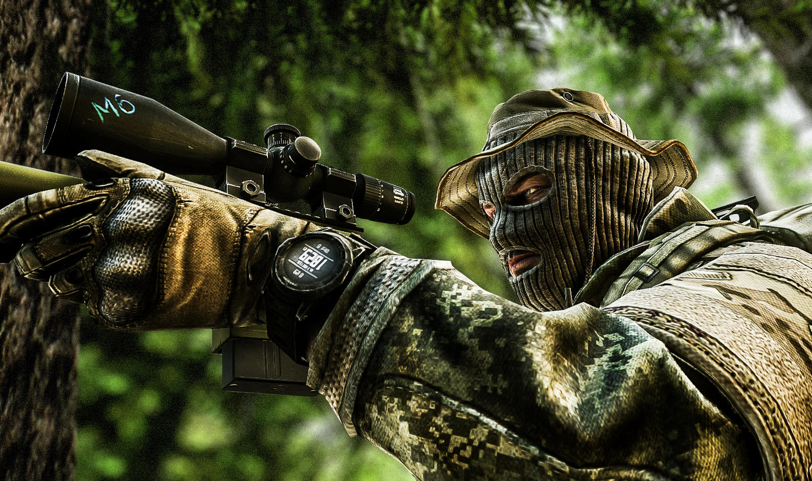 Escape From Tarkov WOODS SNIPER Wallpaper 1080p by