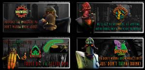 oddworld - magog cartel ads