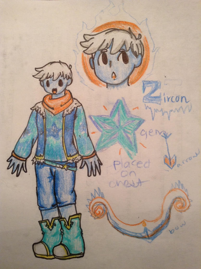 Steven Universe OC Zircon Redesign by Locks-SketchbookSteven Universe Redesign