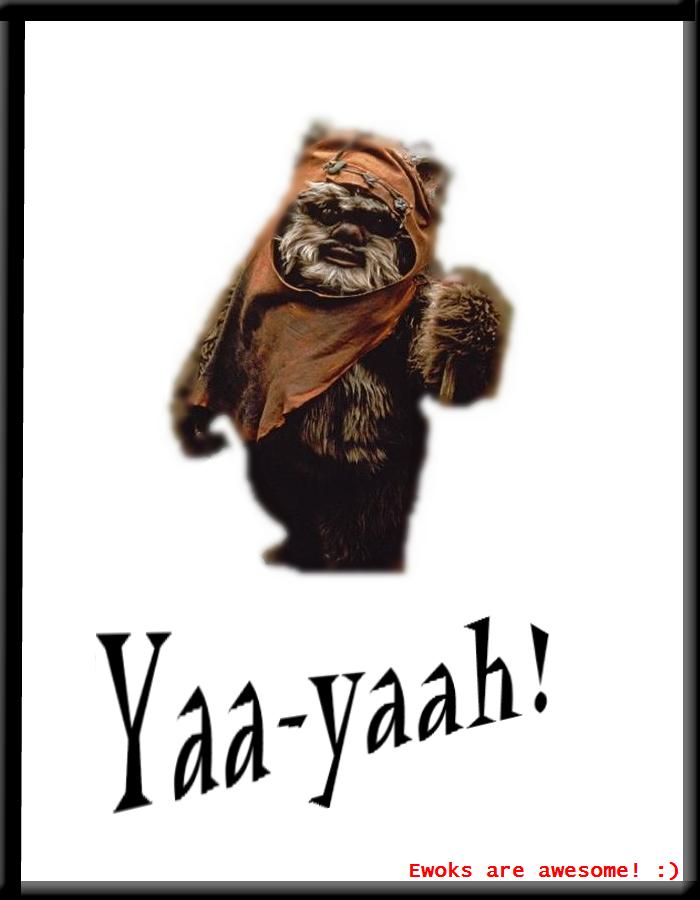 Ewok poster by starriehk on deviantart - Ewok wallpaper ...