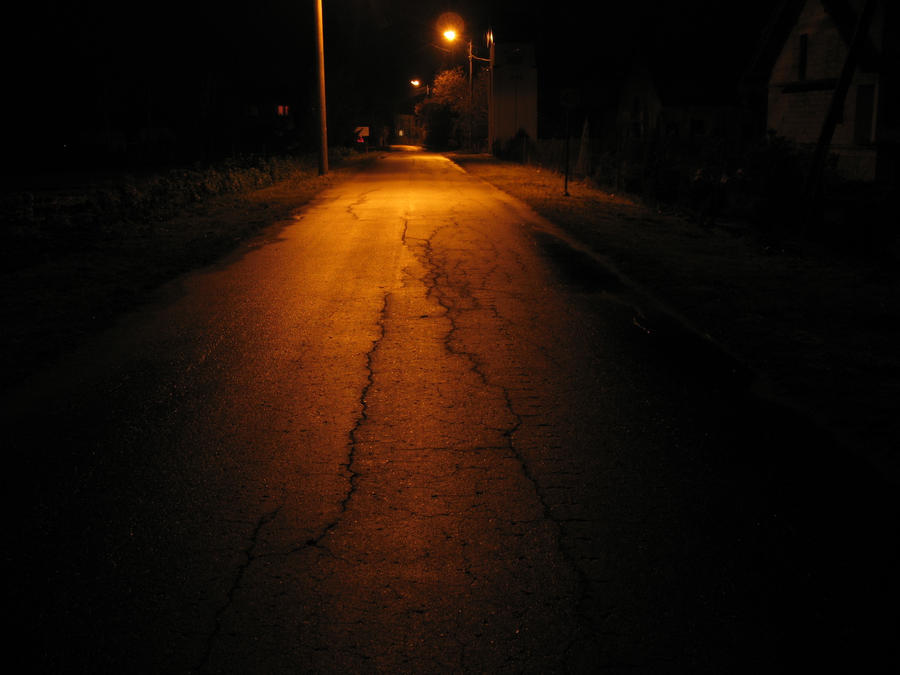 Dark Empty And Scary Street By Randal01