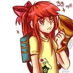 MLPFIM S5 ep.4 Human Apple Bloom's Twittermite