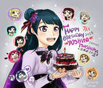 Love Live - Happy Birthday Yoshiko YOHANE Tsushima