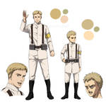 Colt Grice and Falco Grice - Attack on Titan