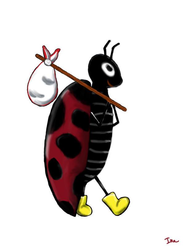 Ladybug by N-ink