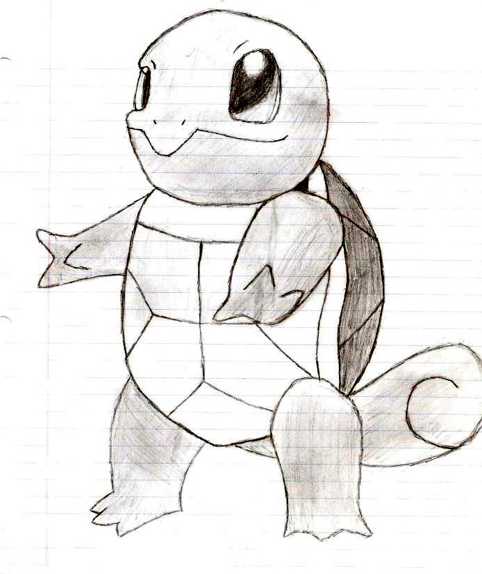 Pokemon Wartortle Drawing Images | Pokemon Images