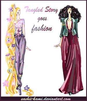 Rapunzel and Mother Gothel