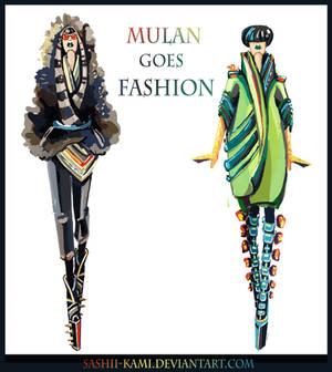 Shan Yu and Mulan
