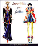 Evil Queen and SnowWhite