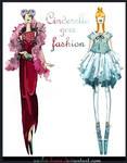 Lady Tremaine and Cinderella