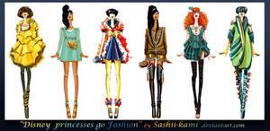 Disney princesses go fashion I