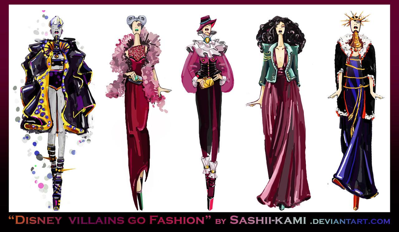 Disney villains go fashion I