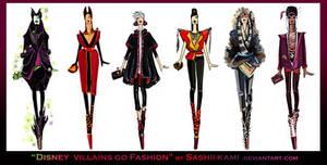 Disney villains go fashion II