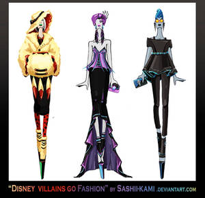 Disney villains go fashion III