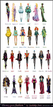 Disney goes fashion.Final