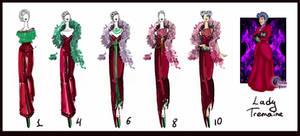 Lady Tremaine- evolution