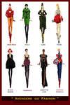 Avengers go Fashion