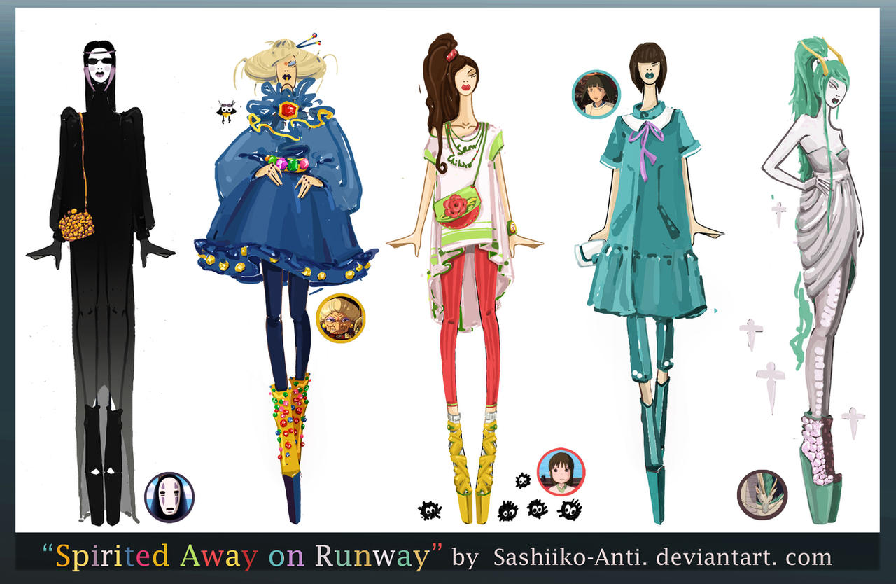 Spirited Away on Runway by Sashiiko-Anti