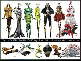 Kung Fu Fashion by Sashiiko-Anti