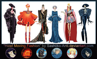 Howl Moving Fashion by Sashiiko-Anti