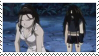 Wrath and Izumi stamp by Iloveyoukisshu