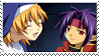 Chrono and Rosette stamp by Iloveyoukisshu