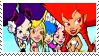 Trollz girls stamp by Iloveyoukisshu