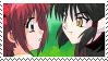 Kisshu and Ichigo stamp 2 by Iloveyoukisshu