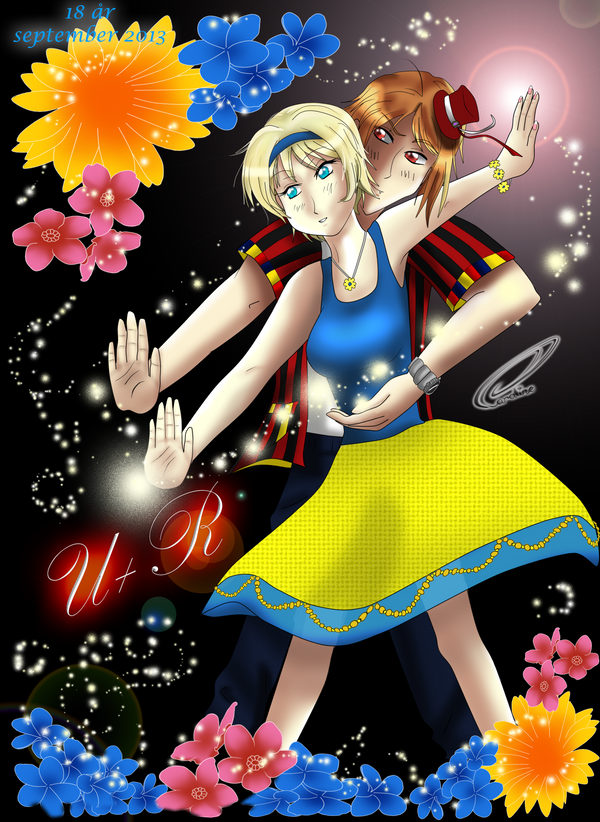 Romania teaches Ukraine his Magic by Iloveyoukisshu