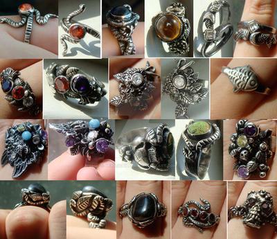 My rings by devilschild669